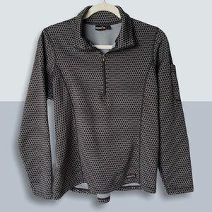 KERRITS Equestrian Honeycomb Pullover Quarter Zip